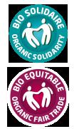 Labels BIO ÉQUITABLE et BIOSOLIDAIRE
