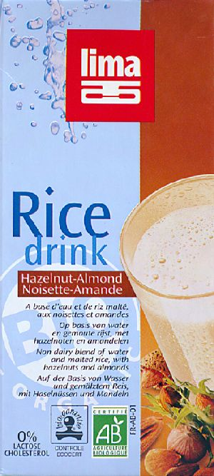 Rice drink noisette amande