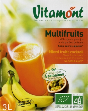 Jus Multifruits Biocoop Toulouse